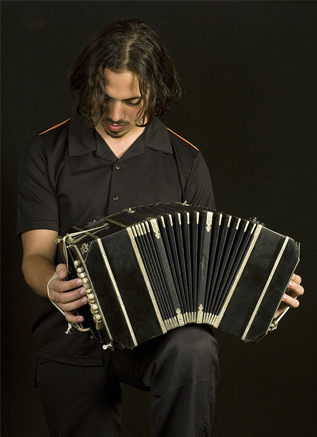 bandoneon player